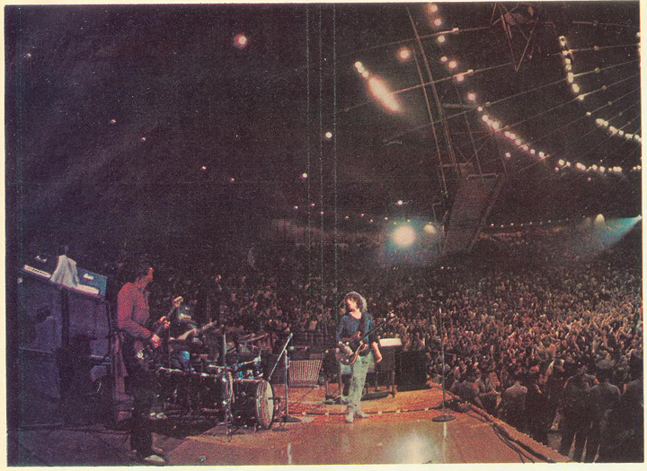 ... Madison Square Garden. Ten Years After   L.A. Forum 1970
